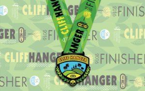 cliff hanger medal 2016